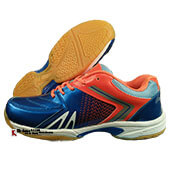 Thrax Astra Badminton Shoe Blue and Orange