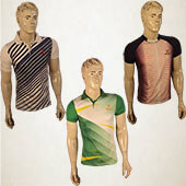 Trio Pack Thrax Badminton T shirts Size Medium M16