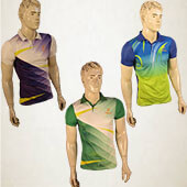 Trio Pack Thrax Badminton T shirts Size Large M17