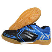 Thrax Up Court Badminton Shoes Blue and Black