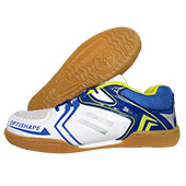 Thrax Up Court Badminton Shoes White and Blue