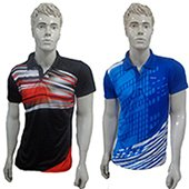 Combo Offer 2 Thrax Badminton T Shirt Size Large