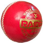 Thrax Raider Grade A Plus Plus Red Cricket Ball 12 Ball Set