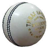 Thrax Stride White Cricket Balls 3 Ball Set