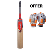Offer on Thrax Neo 11 Englsih Willow cricket bat and Batting gloves