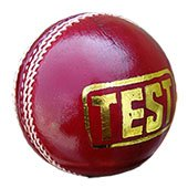 Thrax Test 6 Wire Red Cricket Ball 3 Ball Set