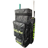 Thrax Duffle Pro Cricket Kit Bag Black Camouflage