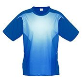 Thrax Sublimation Custom Made Round Neck Cricket T Shirt Blue Size large