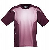 Thrax Sublimation Custom Made Round Neck Cricket T Shirt Maroon Size large