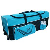 Thrax Proto 11 Wheel Cricket Kit Bag Black and Blue
