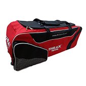 Thrax Elite Series Wheel Cricket Kitbag Red and Black