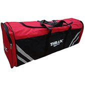 Thrax Academy Cricket Kitbag Red and Black