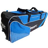 Thrax Elite Pro Series Wheel Cricket Kitbag  Black and Blue