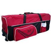 Thrax Proto 11 Wheel Cricket Kit Bag Red and Black
