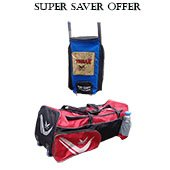 Offer Thrax Proto 11 Wheel and Thrax Neo 11 Bag pack Cricket Kit Bag