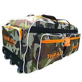 Thrax Super Pack Wheel Cricket Kit Bag Army Color
