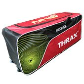 Thrax Max Pack Wheel Cricket Kit Bag Red and Black