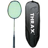 Thrax Rapid Z 104 85gms 26 Lbs Full Graphite Badminton Racket