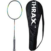 Thrax Streak X 101 82Gms weight 30 Lbs Tension Badminton Racket