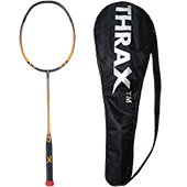Thrax Furious XM 10 72Gms weight 30 LBs tension Badminton Racket