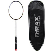 Thrax Furious XM 20 II Gen 69Gms weight 28 LBs tension Badminton Racket