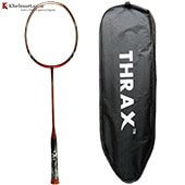 Thrax Astra 76 Feather Light 76Gms weight 35 LBs tension Badminton Racket