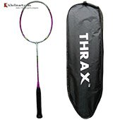 Thrax Lean Power 175 75Gms weight 35 LBs tension Badminton Racket