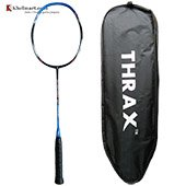 Thrax Lean Power 169 69Gms weight 28 LBs tension Badminton Racket