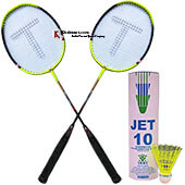 Thrax Badminton Combo Offer Model 17