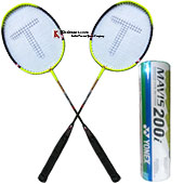 Yonex And Thrax Badminton Combo Offer Model 2