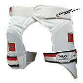 THRAX Thigh Guards Combo White