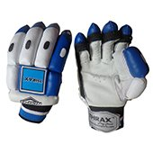THRAX NEO 11 Youth Cricket Batting Gloves White Black and Blue