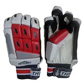 THRAX Neo 11 Youth Cricket Batting Gloves Red and White