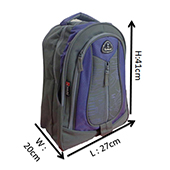 VDM 02 Purple and grey Casual Backpack