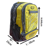 VDM 05 Yellow and Grey Casual Backpack