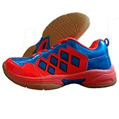 Vector X CS 2010 Orange and Royal Blue Badminton Shoes