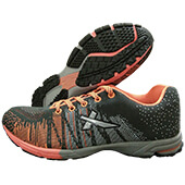 Vector X Stud Running Shoes Orange and Black