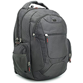 VIP I5 Compact Laptop Backpack Gray