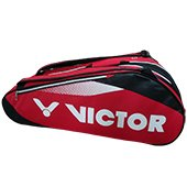 Victor BR7203D Badminton Kit Bag Red and Black