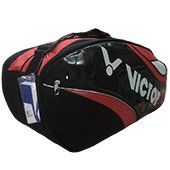 Victor BR6202D Badminton Kit Bag Red and Black
