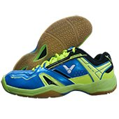 Victor SHA 320 FG Badminton Shoes Blue and Green