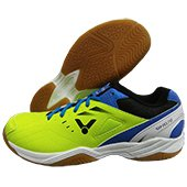 Victor SH A170 GF Badminton Shoes Green and Blue