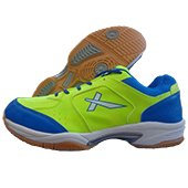Vector X CS 2015 Badminton Shoes Lime and Blue