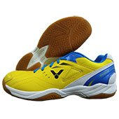 Victor SH A170 E Badminton Shoes Yellow and Blue
