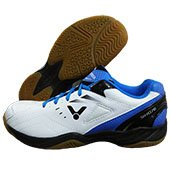 Victor SH A170 AF Badminton Shoes White and Blue