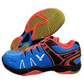 Victor SH A610 FO Badminton Shoes Blue and Orange