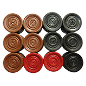Vicky Premium Carrom Board Coins with Striker