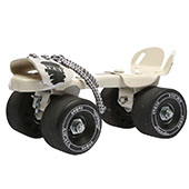 Vicky Roller Skates Smash Baby Big Wheels Black