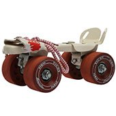 Vicky Smash Baby Big Wheels Roller Skates Red