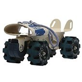 Vicky Roller Skates Jupiter with Brake Blue